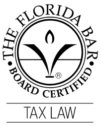 Florida Bar Board Certified Tax Law Attorney