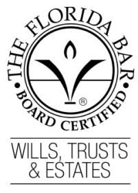 Florida Bar Board Certified Wills, Trusts, Estates Attorney